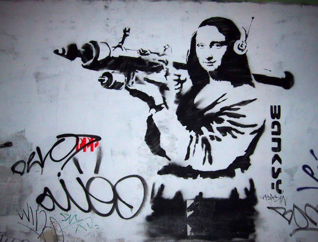 覆面芸術家 バンクシーを知っているか?   ドキュメンタリースタッフブログ「MEDIA FOR US」    覆面芸術家 バンクシーを知っているか?